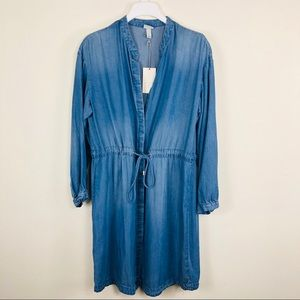 A NEW DAY Chambray Dress Size Large NWT